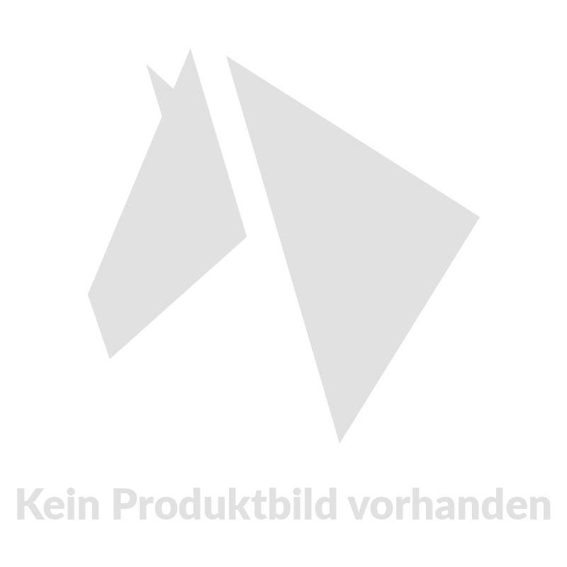 Reithalfter Comfort-Schweden II, Lack in schwarz/weiß