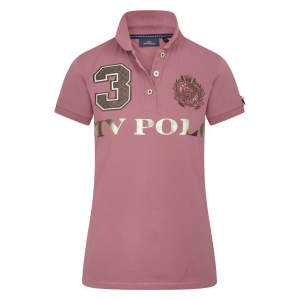 Poloshirt Damen Favouritas Luxury in Mauve
