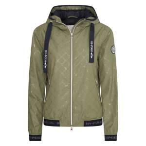 Jacke faltbar mit Tasche in Camouflage Green