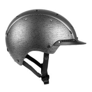 Reithelm Champ-3 in gunmetal/silber