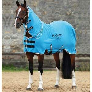 Abschwitzdecke Rambo Dry Rug Supreme in Blue/Black