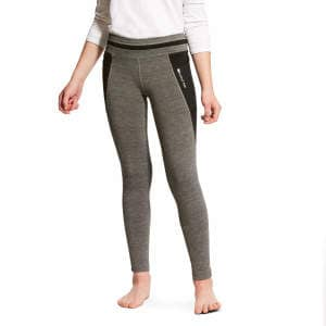 Kinderreitleggins YTH Freja KP Cooling Tight in charcoal
