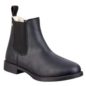 Stiefelette Jodhpur Winter in black