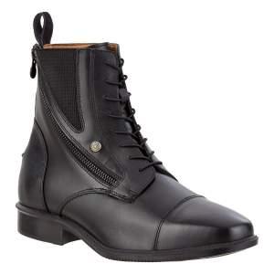 Stiefelette Side Zip Schnürer Legacy SZ Lace in schwarz