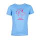 Thumbnail Designshirts, T-Shirts: Kinder- T-Shirt Team Einhorn in blau 1020582875246 von Lepona