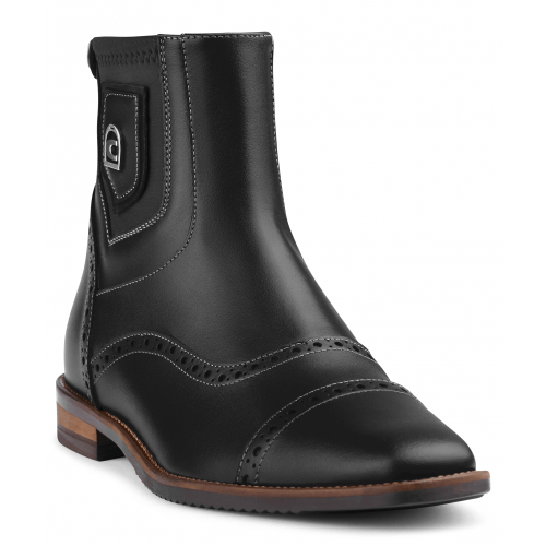 Cavallo - Stiefelette Brogue in schwarz