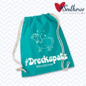 Gym-Bag Dreckspatz in türkis
