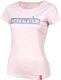 """Thumbnail Designshirts, T-Shirts: T-Shirt """"Eskalation"""" mit silber Glitzer in cream heather pink 1032257317715 von #soulhorse"""