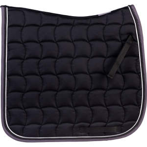 Schabracke Basic Style in schwarz/grau