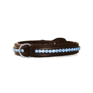 Hundehalsband in Parisian Blue