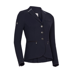 Turnierjacket Damen Victorine Crystal Fabric in navy