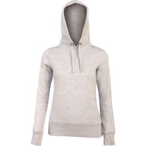Sweatshirt Damen #Pony-love in grau