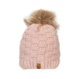 Mütze Strick in rosa