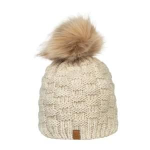 Mütze Strick in beige