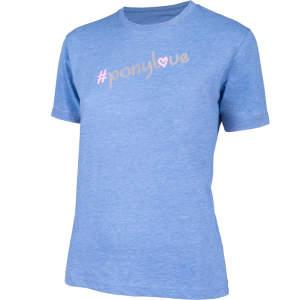 Kinder-T-Shirt Ponylove in blau