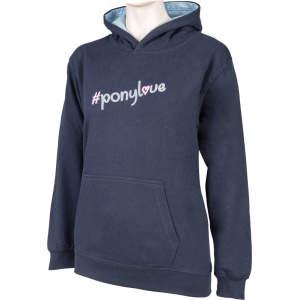 Kinder-Sweatshirt Ponylove in nachtblau