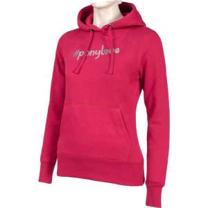 Damen-Sweatshirt Ponylove in himbeere