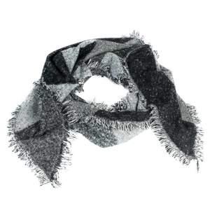 Schal Trapez in schwarz/grau