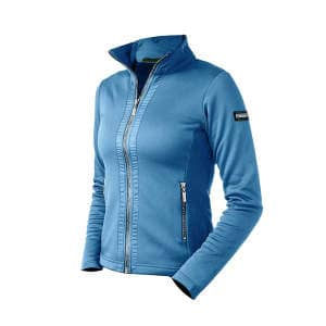 Fleecejacke Damen Parisian Blue
