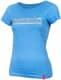 """Thumbnail T-Shirts, Designshirts: T-Shirt """"Eskalation"""" mit silber Glitzer in heather mid blue 1066867730848 von #soulhorse"""