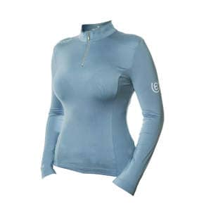 Damenfunktionsshirt UV Protection in Steel Blue