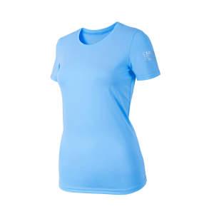 Funktionsshirt Cabella in hellblau