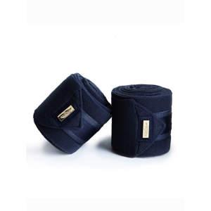 Fleecebandagen Classic Navy Gold, Größe: OneSize