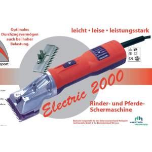 Pferdeschermaschine Electric 2000