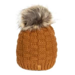 Mütze Strick in braun