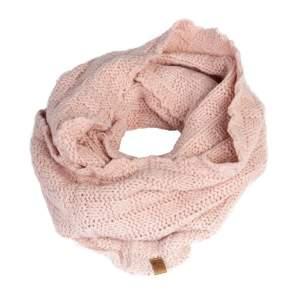 Schal Loop Strick in rosa