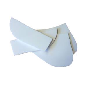 Ersatzeinlagen für KavalTop-Vario-Schabracken in weiß