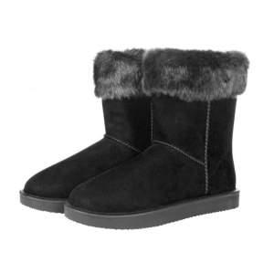 Allwetterstiefel Davos Fur in schwarz