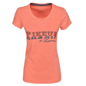 Damen-T-Shirt Felicia NG in peach