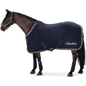 Abschwitzdecke Fleece Widebinding (CS ltd. FS18) in deepblue
