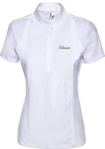 6000 Red Tournament Blouse Pikeur Competition Shirt Pikeur Ladies Tournament Shirt