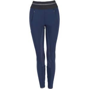 Reithose Damen Gia Grip Athleisure Softshell mit Voll-Grip in nachtblau