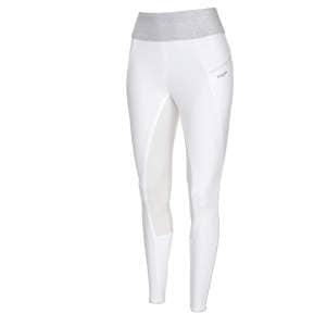 Reithose Damen Hanne Athleisure Vollgrip in weiß