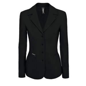 Damen Turnierjacket Klea in schwarz