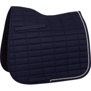 Schabracke Glamour Chic Dressur in blau