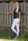 Thumbnail Turnierreithosen: Damenreithose Kessi mit Silikon Kniebesatz E-Tec in white 172-BRKG-022-000 von Kingsland