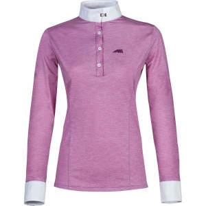 Damen-Turniershirt Alexa, langarm in rosa