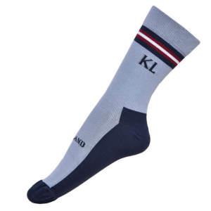 Kurze Socken Edisto in grau