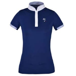 Damen Turniershirt Valdosta in blau