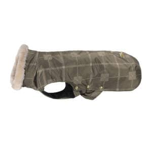 Hundedecke Oxford Check (Heritage 19/20) in deeptaupe check