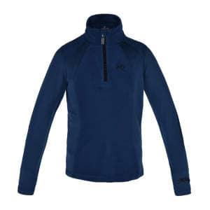 Pullover Michelle mit Reißverschluss für Mädchen in blue m.o.