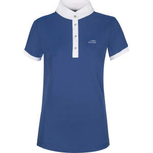 Turniershirt Damen Sage Polo Shirt S/S in Niagara