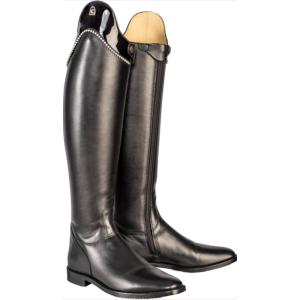 Reitstiefel Insignis Slim Perlen/Lack Silhoulette in schwarz