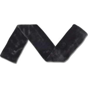Sattelgurtschoner in schwarz