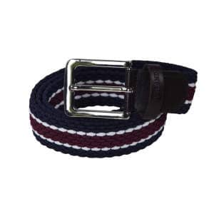Gürtel Tende, elastisch in navy/burgundy