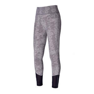 Damenreitleggings Karina, mit Vollgrip, F-Tec in grey